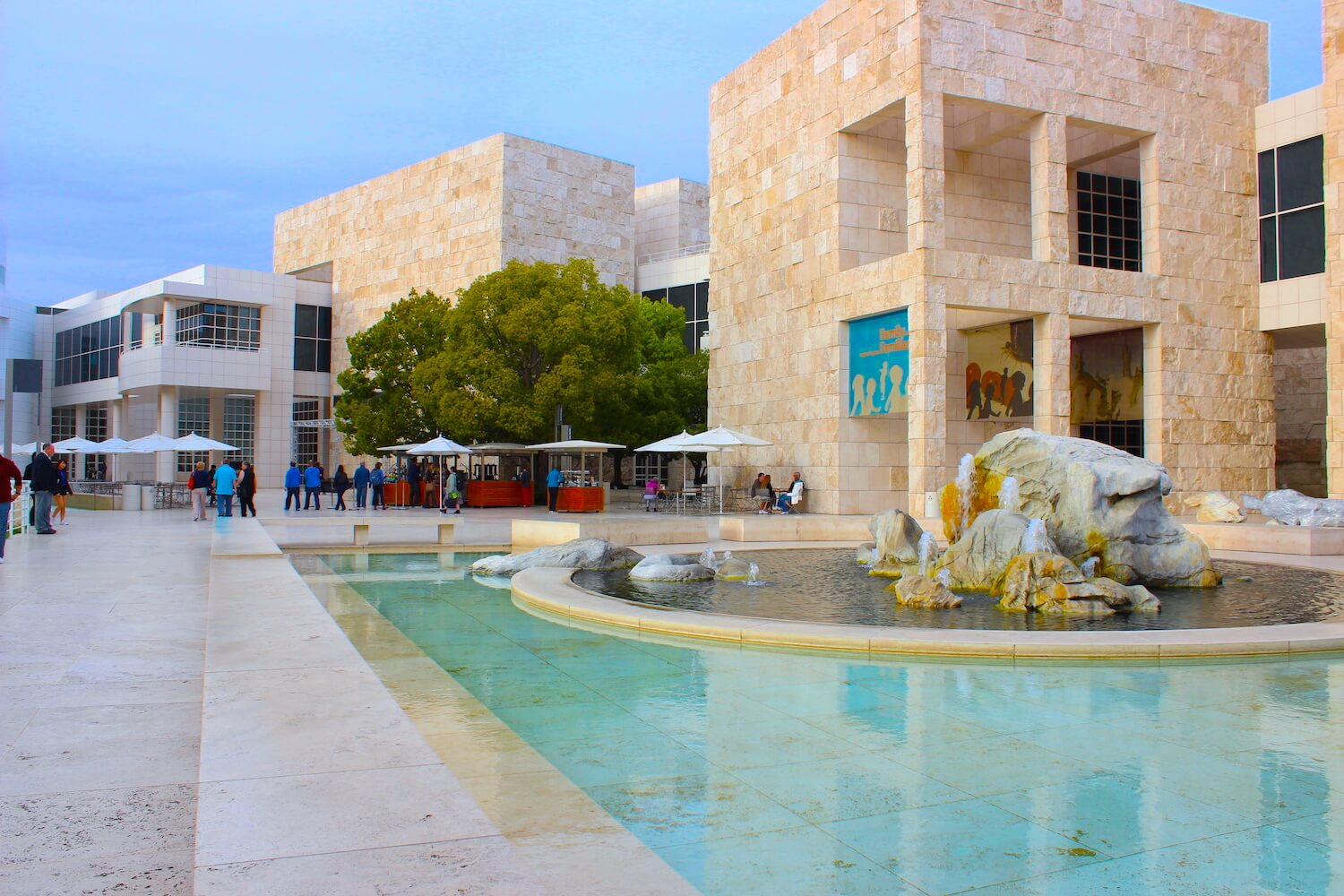 getty museum buildings