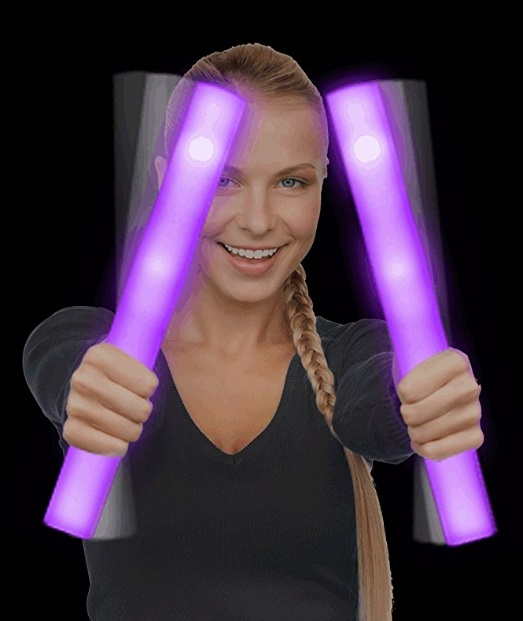 What to wear to a rave EDM outfits light up foam sticks