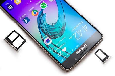 khay sim trên Samsung Galaxy A7 2016 cũ và A5 2016 cũ