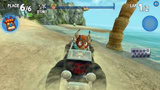 crab cove Misteri 15 Easter Egg Telur Beach Buggy Racing