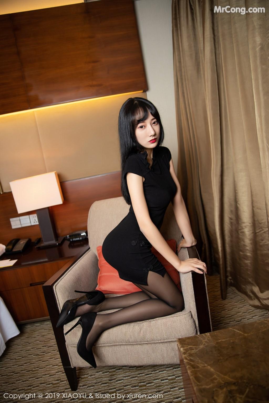 Image XiaoYu-Vol.145-He-Jia-Ying-MrCong.com-047 in post XiaoYu Vol.145: He Jia Ying (何嘉颖) (68 ảnh)