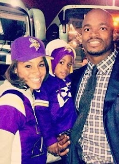 Adrian Peterson's family