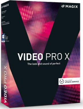 MAGIX Video Pro X9 15.0.4.176 poster box cover