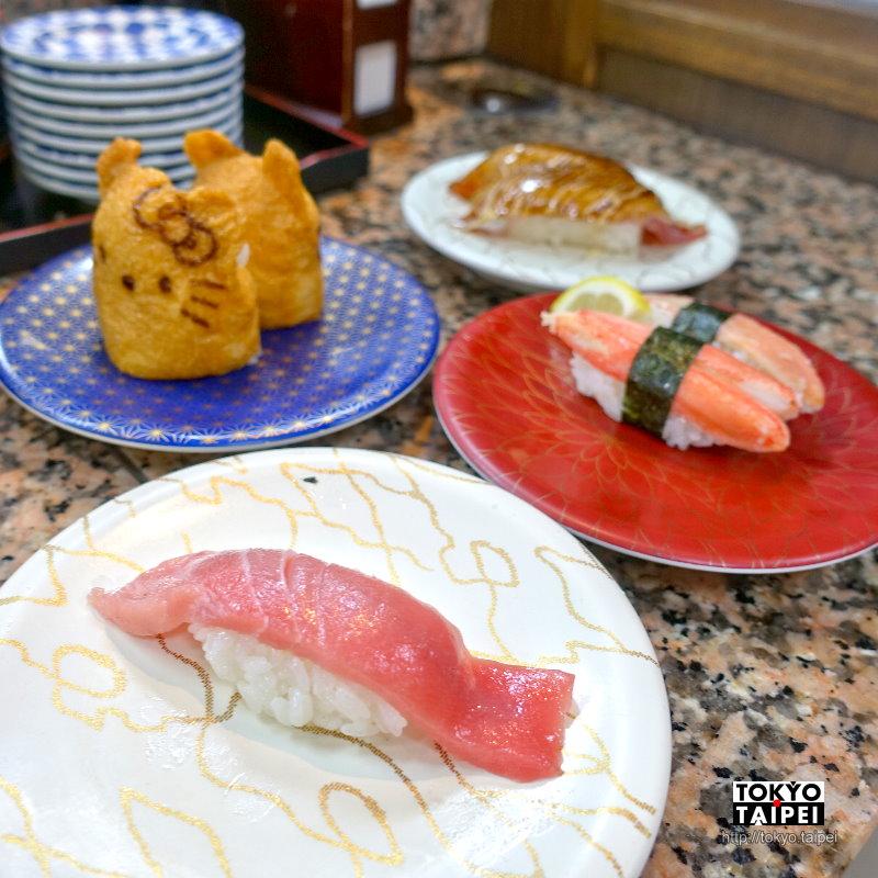 【Gourmet迴轉壽司市場】便宜又新鮮 美國村旁要排隊的迴轉壽司店
