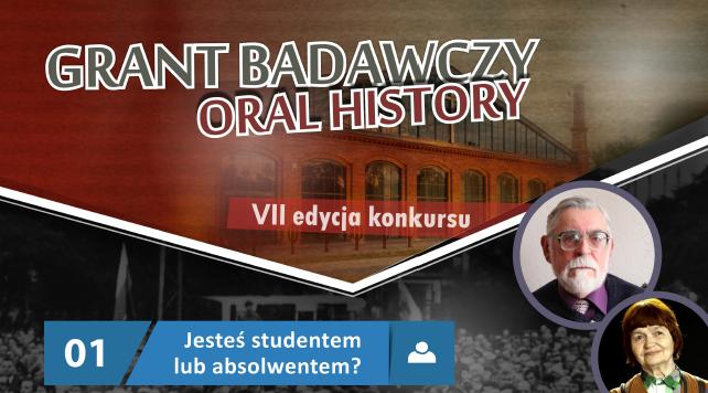 Grant Oral History VII - konkurs dla historyków