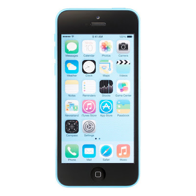 Spesifikasi dan Harga Apple iPhone 5C - Biru