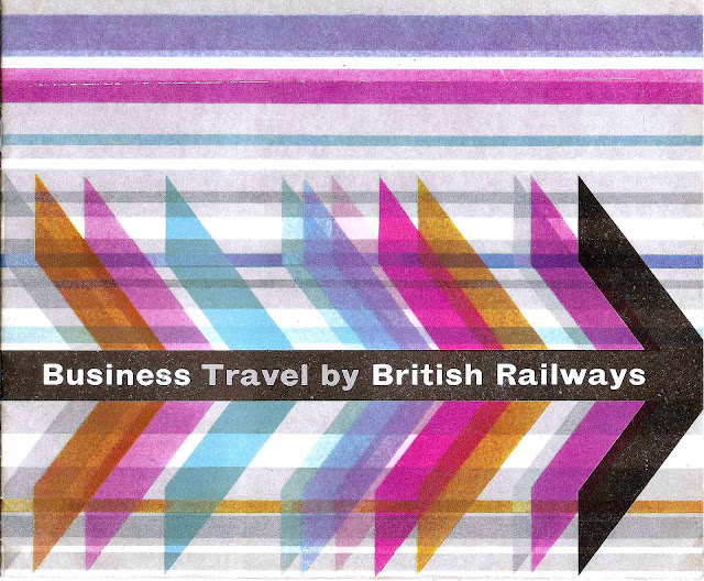 1963 British Railways color poster for business travel