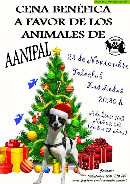AANIPAL: Cena a beneficio de los animales