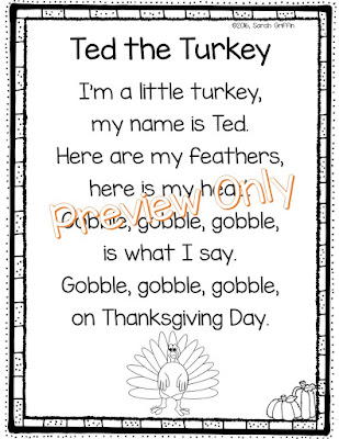 https://www.teacherspayteachers.com/Product/Ted-the-Turkey-Thanksgiving-Poem-2835886