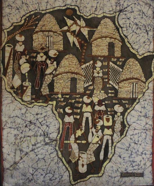 Mapa simbólico de África