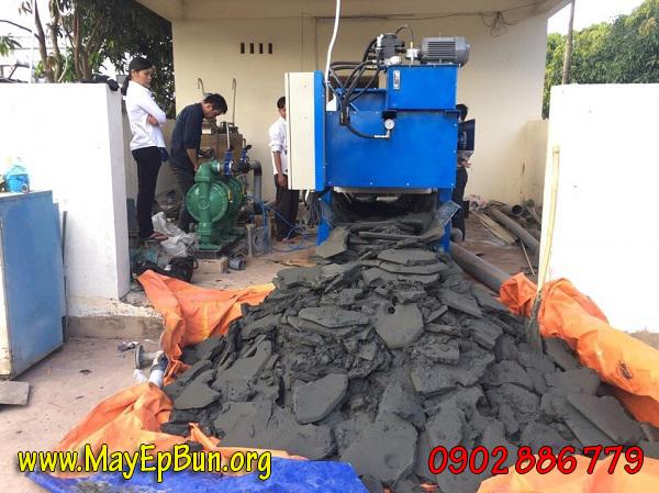 Máy ép bùn khung bản làm khô bùn thải tốt nhất, độ ẩm còn lại thấp nhất
