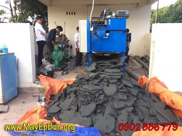 Làm khô bùn thải tốt nhất, hãy tìm mua máy ép bùn khung bản Việt Nam Vĩnh Phát