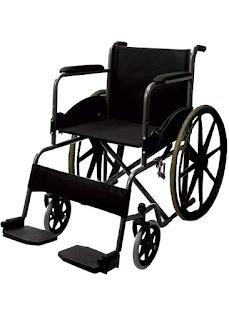 Modified Black Magic Wheelchair With Mag Wheels