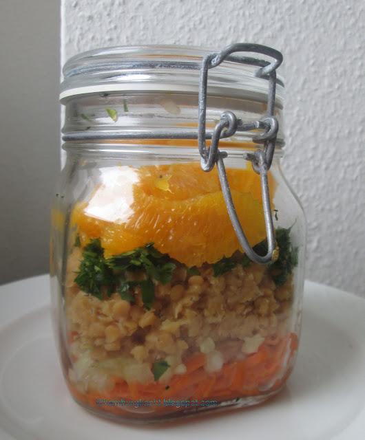 hamburg kocht nachgekocht orangen linsen salat mit senfdressing. Black Bedroom Furniture Sets. Home Design Ideas