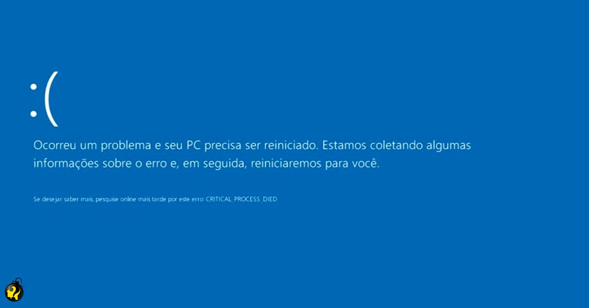 Windows 10: possíveis causas para a 'tela azul da morte' e como resolver