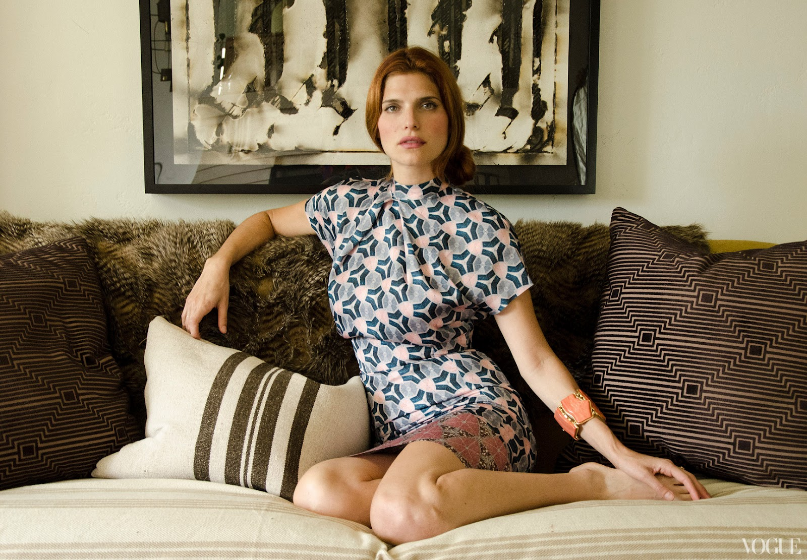 Lake Bell for Vogue