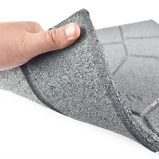 Greatmats rubber flexible patio paver tile