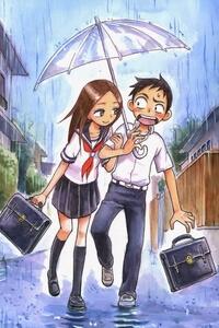 Truyện tranh Karakai Jouzu no Takagi-san