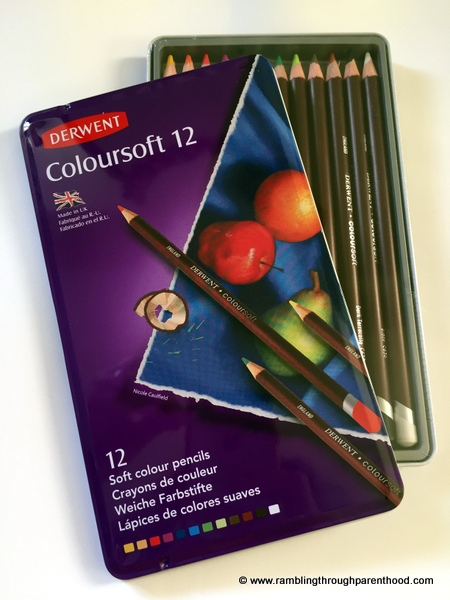 Derwent Coloursoft 12
