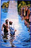 Resultado de imagen para bautismo DE JESUS dibujos