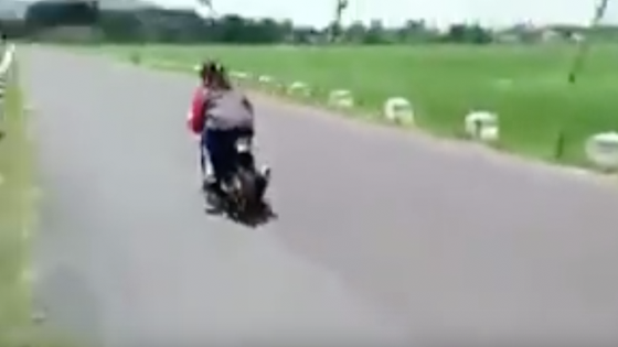 Video Detik-Detik Pembalap Cewek Asal Trenggalek Tewas Saat Uji Coba Motor