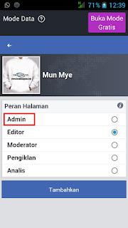 Cara Mudah Menambahkan Admin Di Fanspage Facebook