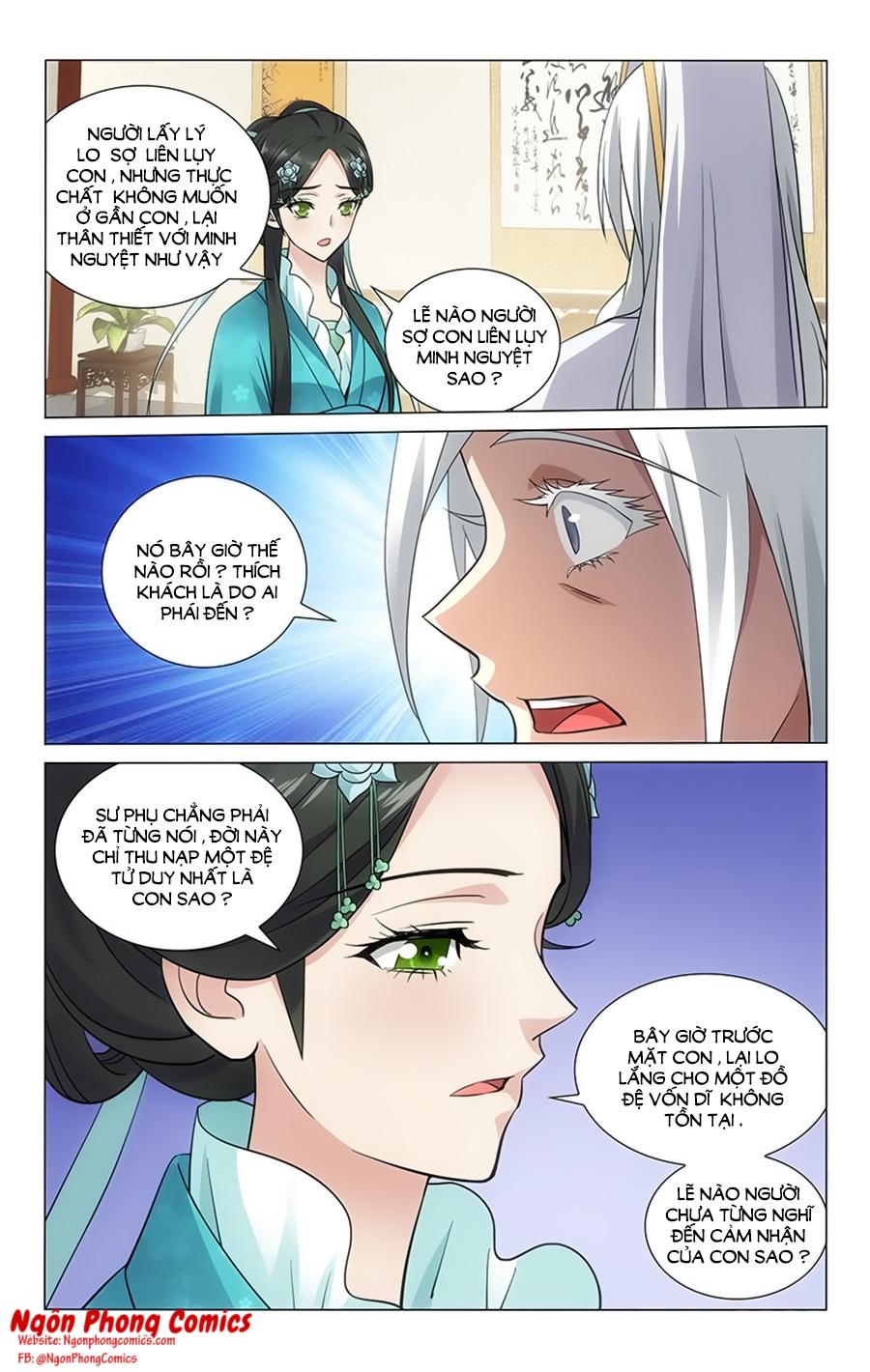 Vương Gia Không Nên A Chap 62 - Trang 7