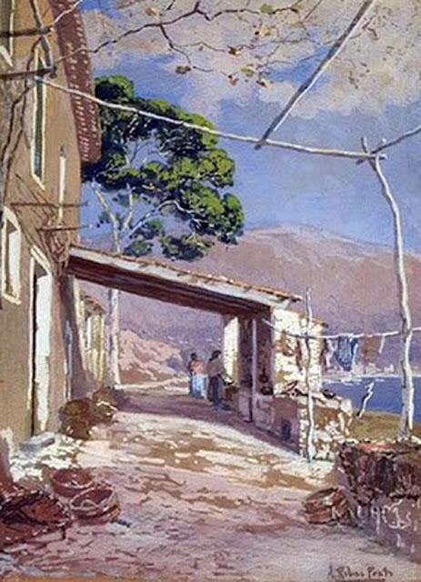 Antonio Ribas Prats, Paisaje en Mallorca, Mallorca en Pintura, Mallorca pintada, Paisajes de Mallorca