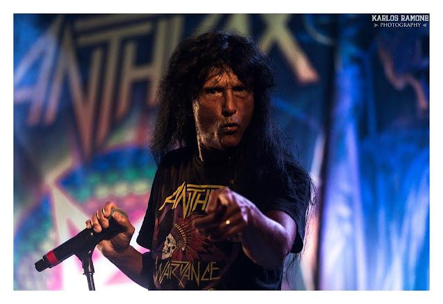 anthrax en vivo 2018
