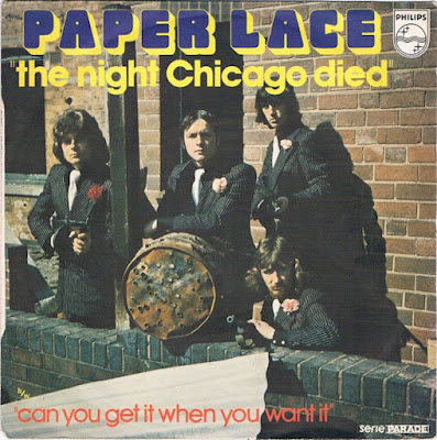 """The Number Ones: Paper Lace's """"The Night Chicago Died"""""""
