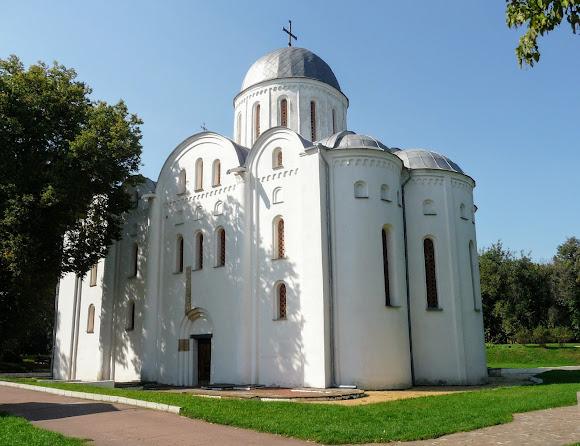 Чернигов. Детинец. Борисоглебский собор. 1123 г.