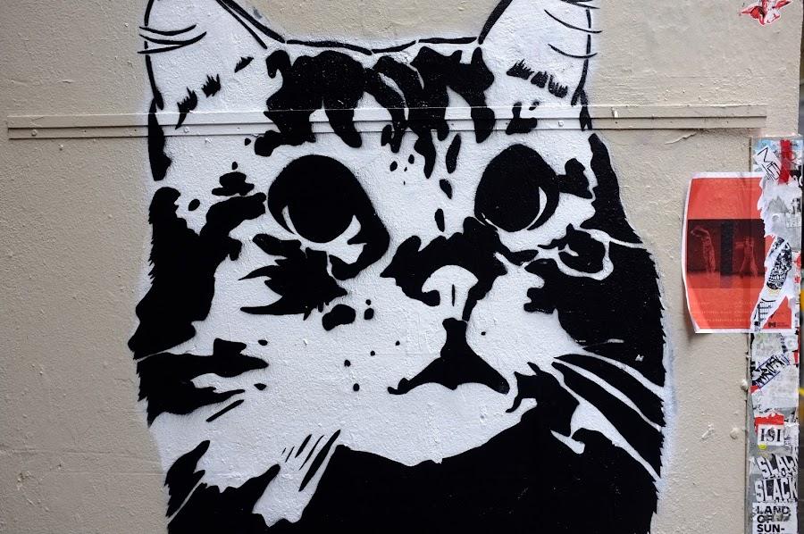 Melbourne streetart lanes