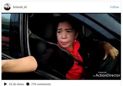HEBOH, Polisi Mau Menilang Emak-emak, Malah Diteriaki Jambret