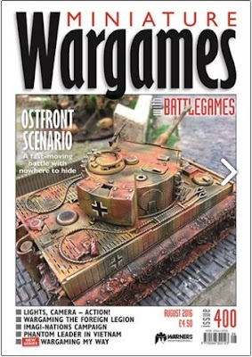 Miniature Wargames 400, August 2016