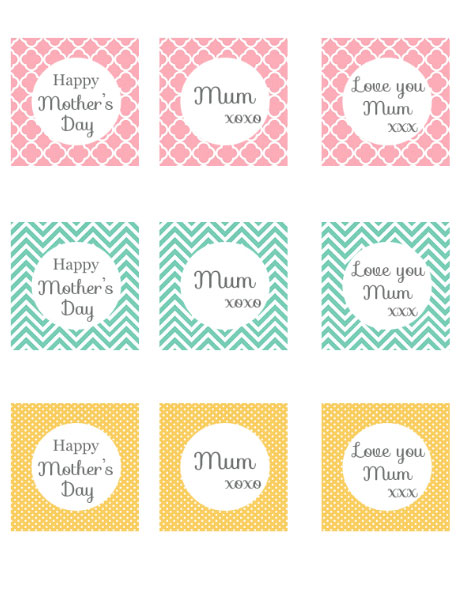 mother 39 s day printable tags and toppers my may sunshine. Black Bedroom Furniture Sets. Home Design Ideas