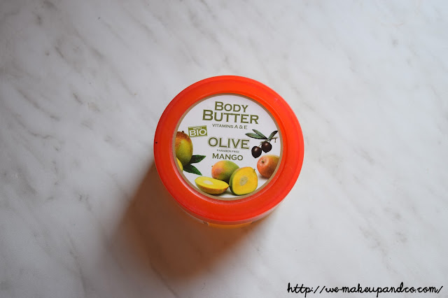 Blog beauté belge body butter vitamin E