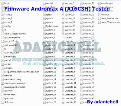 Firmware Andromax A A16C3H Terbaru
