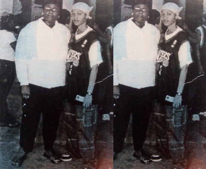 Check out Munachi Abii rocking tomboy outfit in major throwback photo