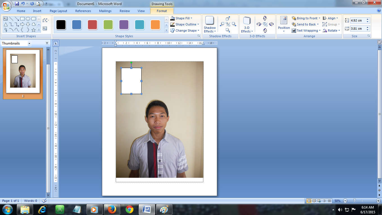 Cara Mudah Cetak Foto Dengan Microsoft Office Word Dan K32 Internet Amp Service