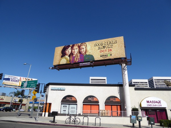 Good Girls Revolt Amazon series billboard
