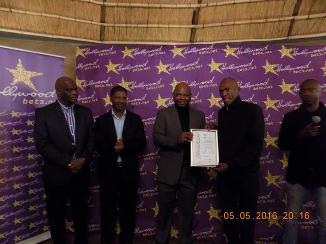 Awards evening and certificates being handed out for the Limpopo Entrepreneurial Development Programme - Hollywoodbets