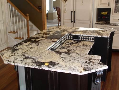 Delicatus Cream Granite Work Examples With