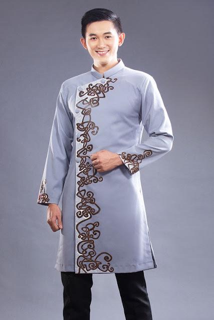 thuê áo dài nam