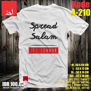 Spread Salam | Desain Baju Muslim