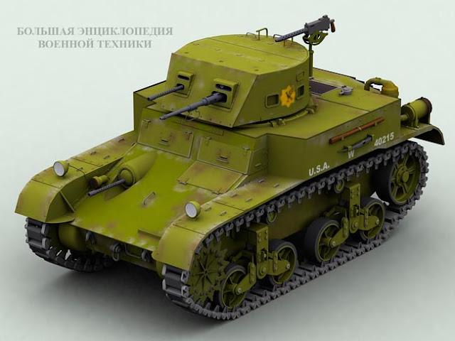 Легкий танк Combat Car M1