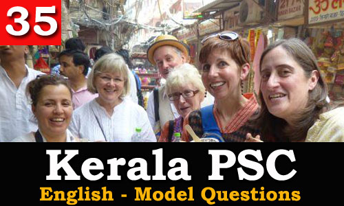 Kerala PSC - Model Questions English - 35