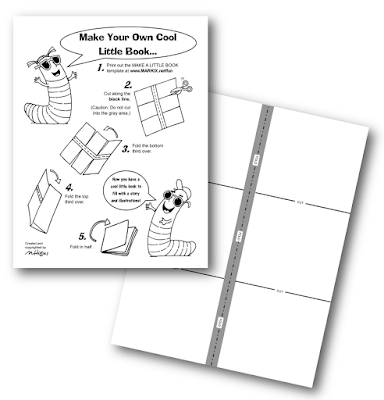 http://www.markix.net/fun/make_your_own_cool_little_book.html