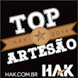 Lara Art's: Artesã Top Hak