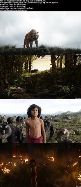 The Jungle Book 2016 BRRip 480p Dual Audio Hindi