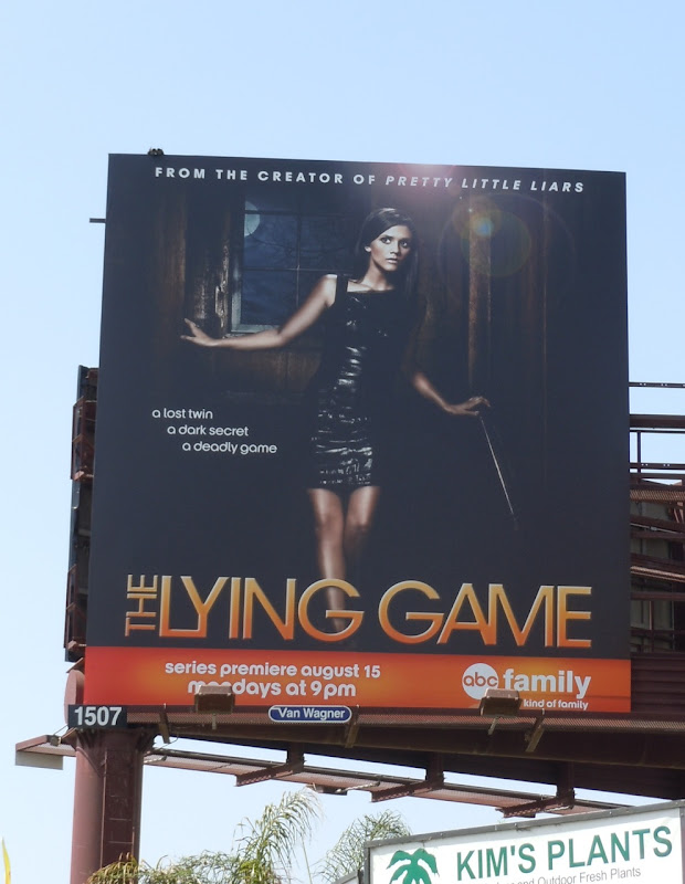 The Lying Game TV billboard